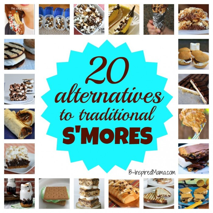 20 Alternatives to Traditional Smores – Your Family with Love!