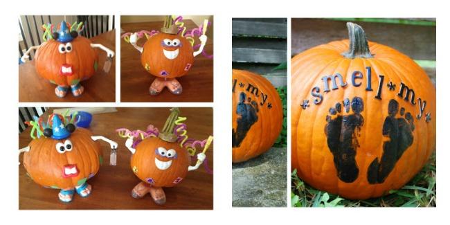 pumpkin carving or decorating winner and runner up at binspired mama