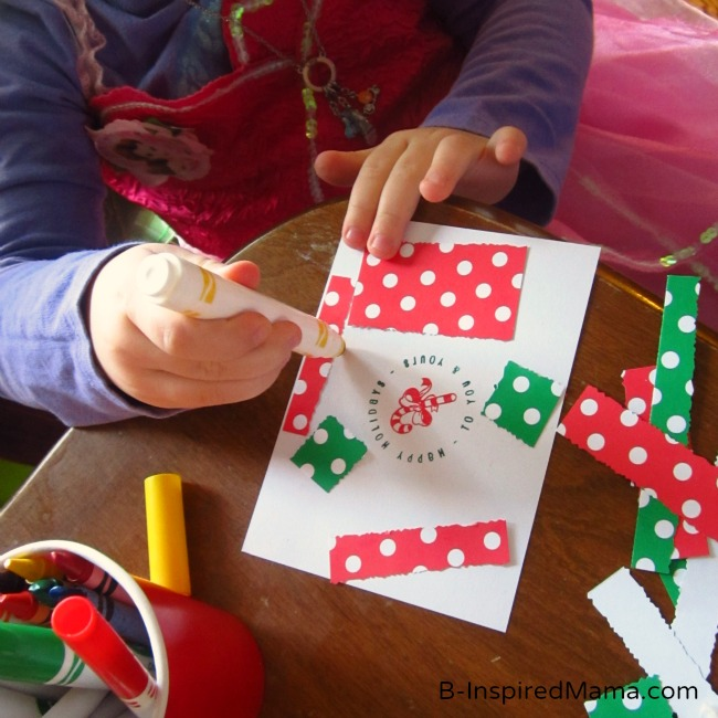 A Creative Kids Christmas Craft