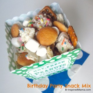 Kids Birthday Chex Mix Recipe
