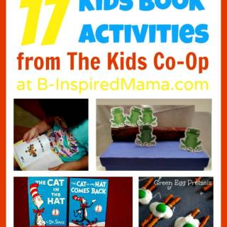 17 Kids' Book Activities from The Kids Co-Op