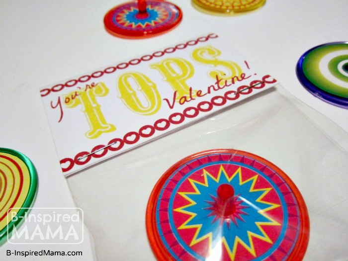 An Easy and Free You're Tops Valentine Printable at B-Inspired Mama