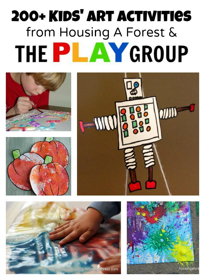 Art Activities from Housing A Forest and The PLAY Group