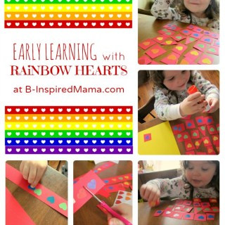 Early Learning with Rainbow Hearts