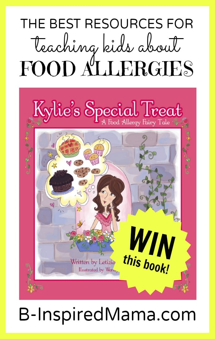 Teaching Kids About Food Allergies at B-InspiredMama.com