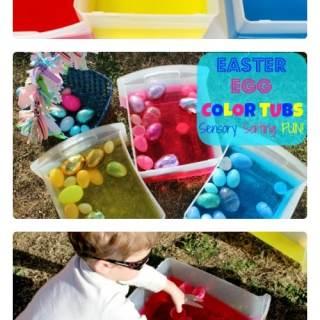 Easter Egg Color Sorting