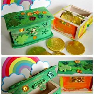 Leprechaun Trap Box St. Patrick Craft