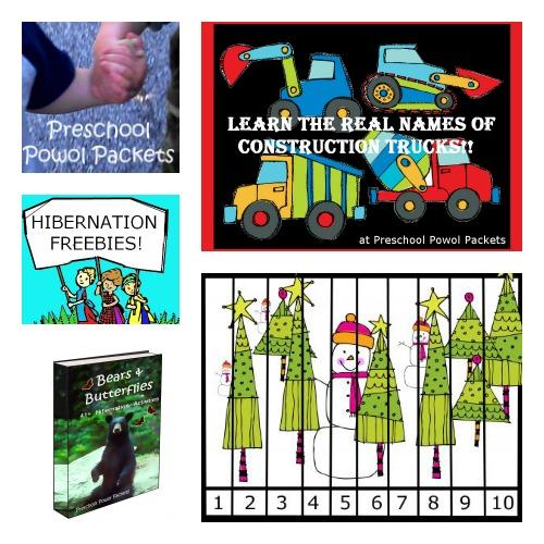 Preschool Powol Packets on B-InspiredMama.com