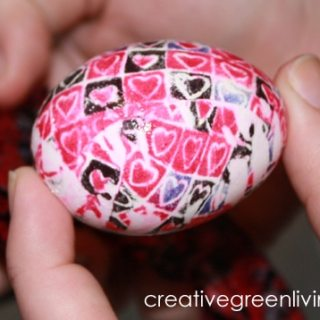 Silk Dyed Eggs [From the Mamas]