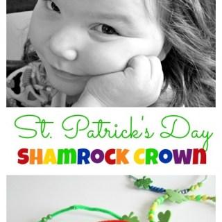 Kids St Patrick Craft Crown