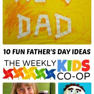 10 Fun Fathers Day Ideas for Kids from The Weekly Kids Co-Op