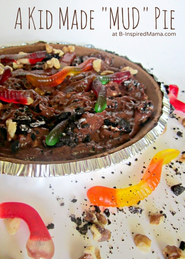 A Messy Kids Mud Pie Recipe