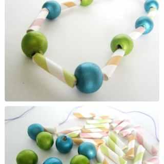 Summer Craft Camp Kids Necklace