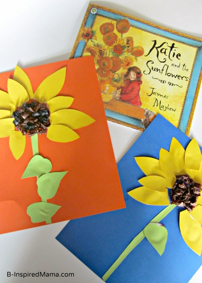 Welcome spring with one or more of these fun and easy butterfly crafts that you can make with your kids. Summer Sunflower Kids Craft Inspired By Art History B Inspired Mama