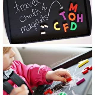 DIY Kids Travel Activity Board [From the Mamas]