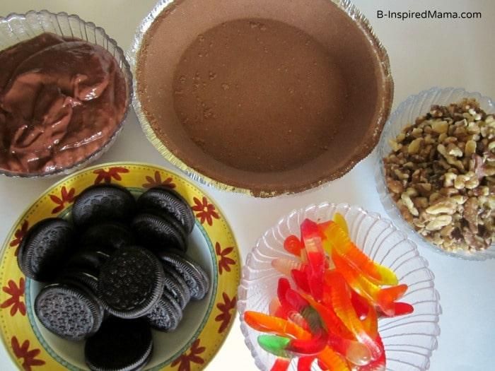 Kids Mud Pie Recipe Ingredients at B-Inspired Mama.com