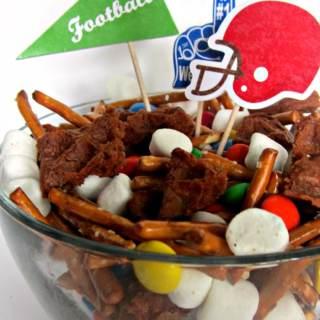 Fun Football Party Mix Recipe [Sponsored by Eggo]