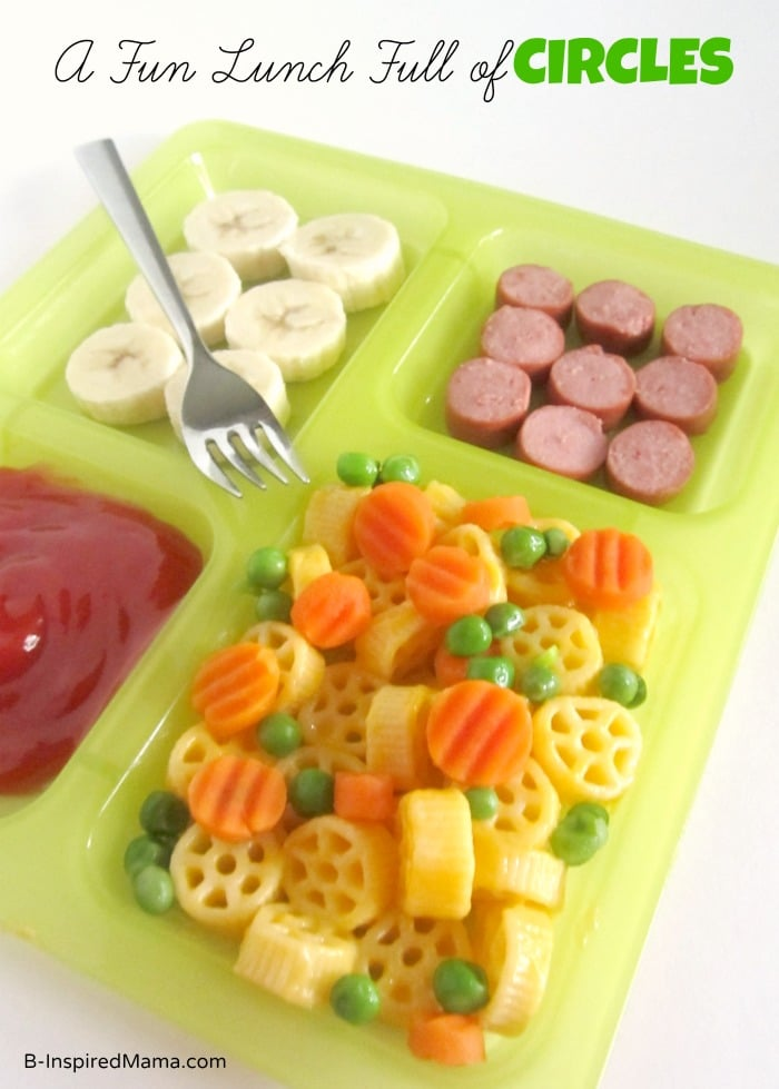 A Fun Lunch Full of Circles at B-Inspired Mama