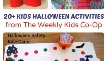 the best halloween activities from the weekly kids co op - Fun Halloween Kids Games