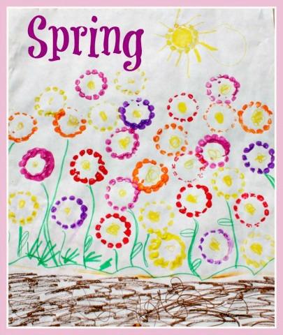A Spring Season Craft at B-Inspired Mama