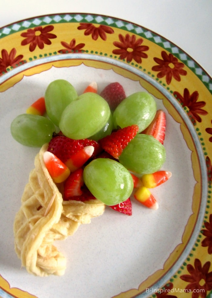 A Cornucopia Kids Thanksgiving Snack with Eggo at B-Inspired Mama