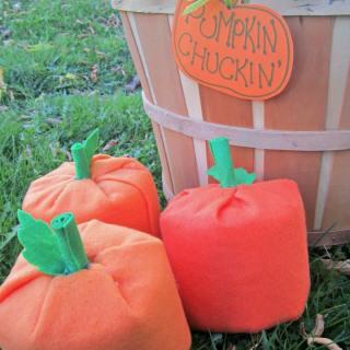 Kids Pumpkin Chuckin' Halloween Game