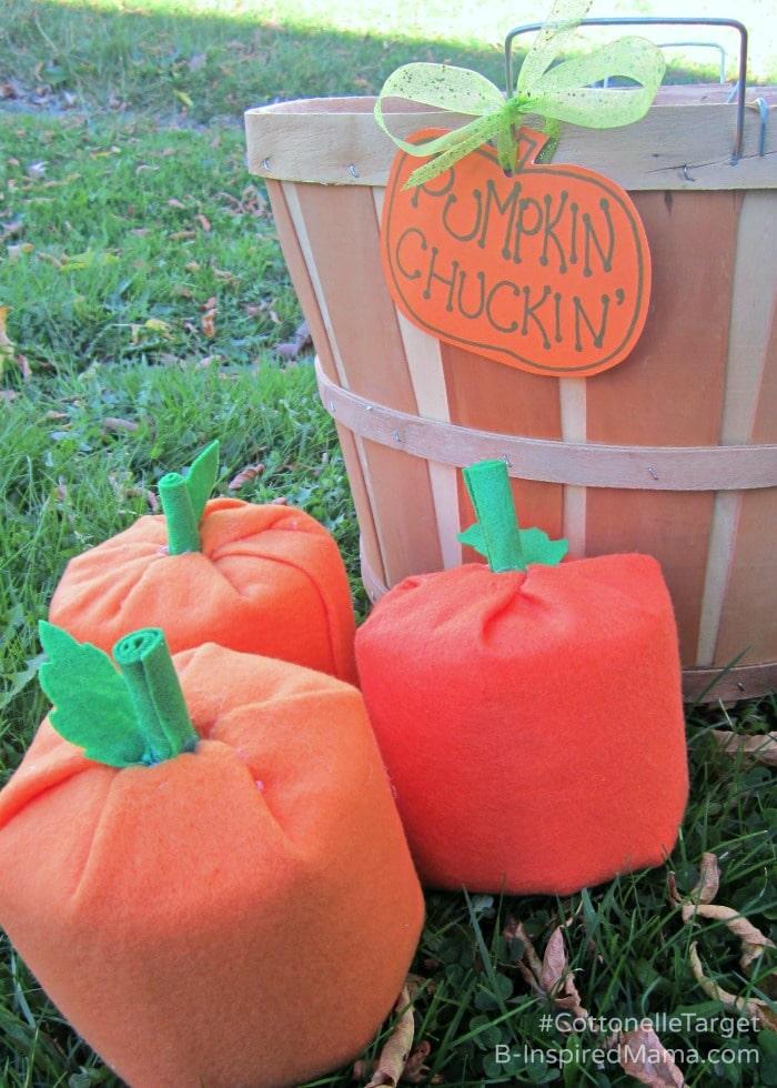 Diy Pumpkin Chuckin Halloween Game
