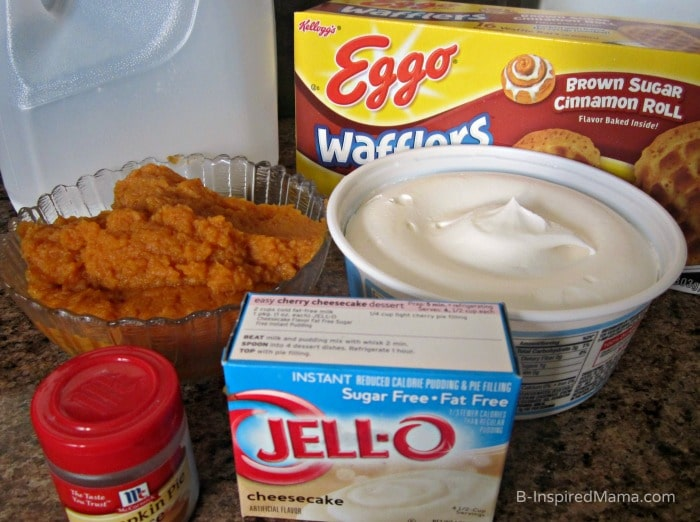 Pumpkin Cheesecake Parfait Ingredients at B-Inspired Mama