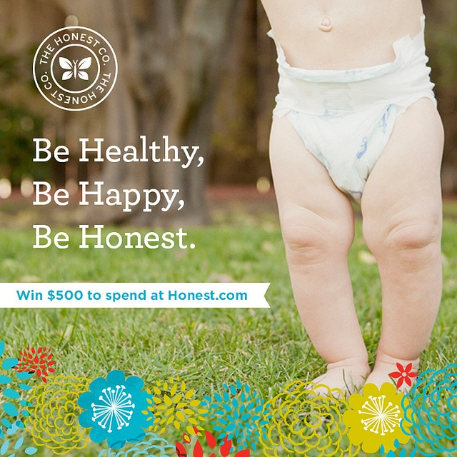 Enter to Win a Gift Certificate from The Honest Company at B-Inspired Mama