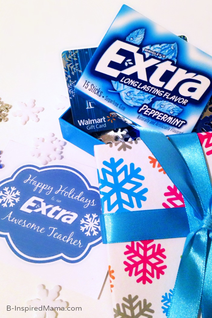 An Extra Awesome Holiday Teacher Gift [Sponsored by Extra ...