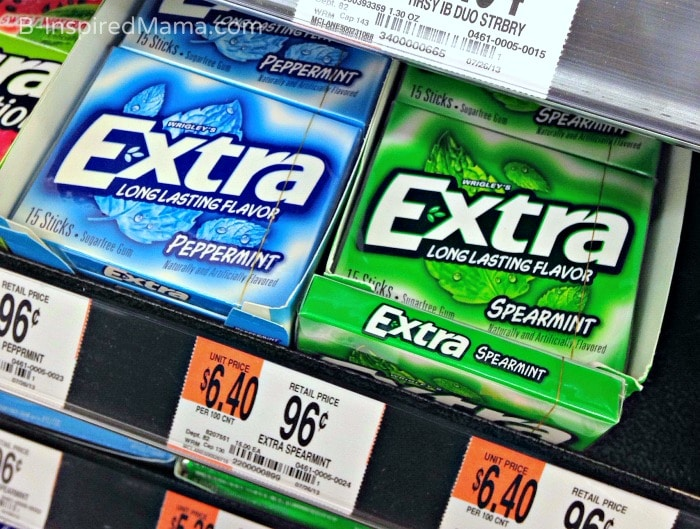 A Sponsored #Shop for Extra Gum at Walmart - B-Inspired Mama
