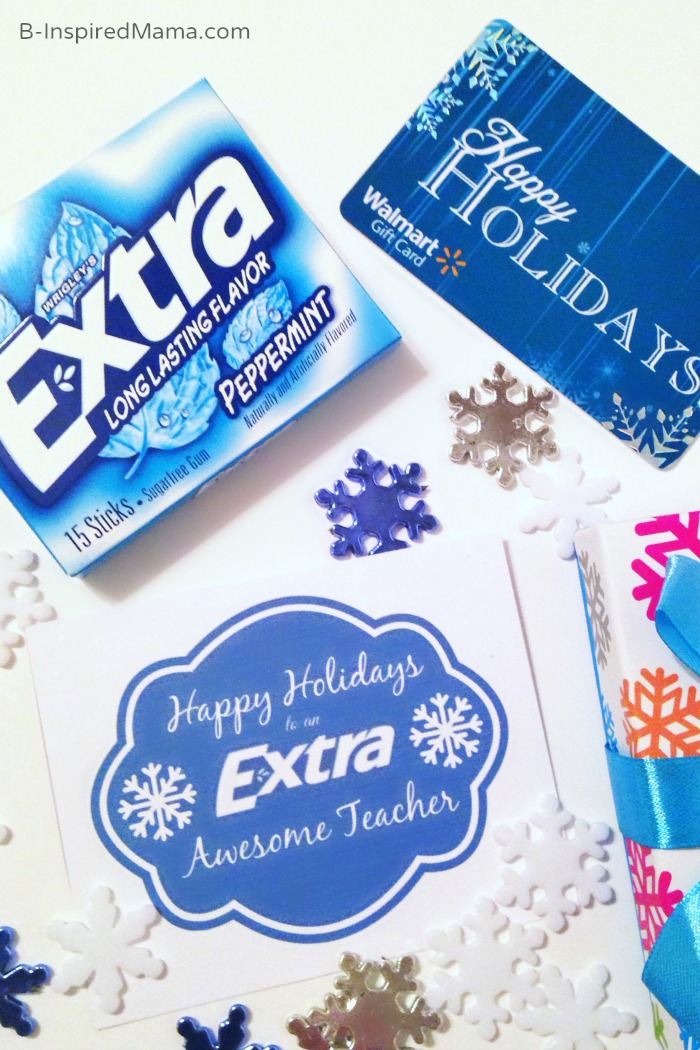 An EXTRA Awesome Teacher Gift Sponsored #Shop with Extra Gum at B-Inspired Mama