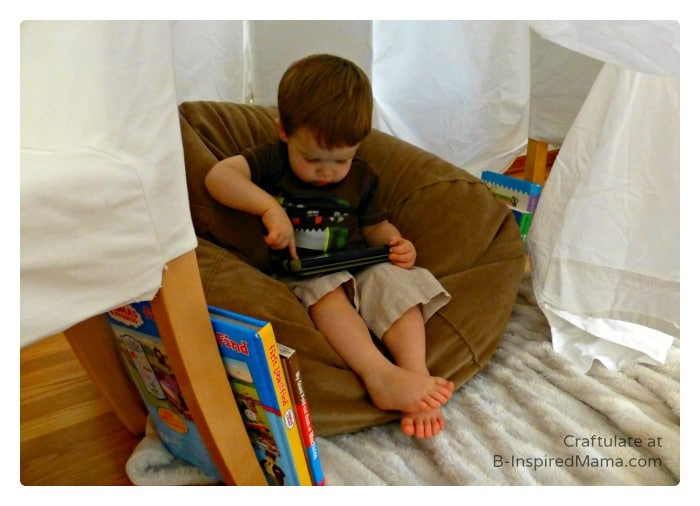 Reading Fun in a DIY Book Nook [Contributed by Craftulate]