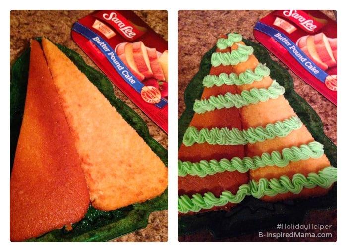 Steps to Make an Easy Christmas Cake Recipe - Sponsored #HolidayHelper - B-Inspired mama
