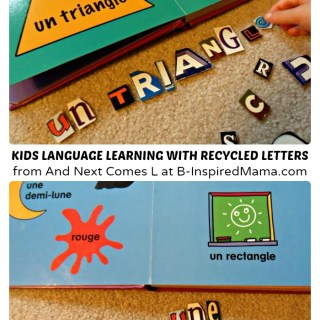 Second Language Learning with Recycled Letters [Contributed by And Next Comes L]