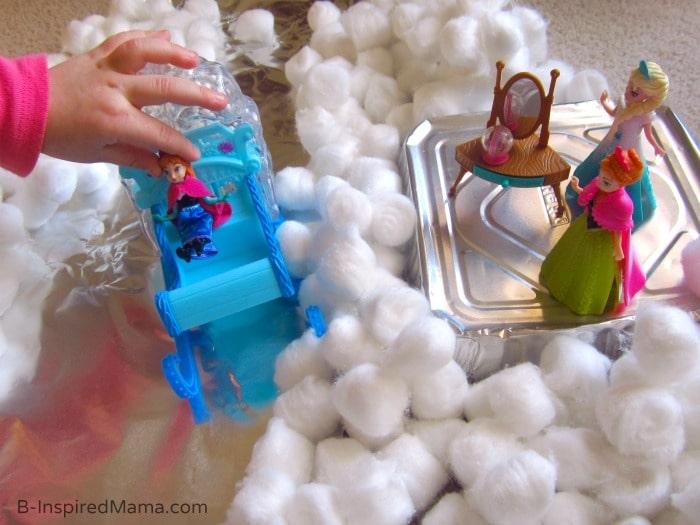 FROZEN Kids Play Invitation at B-Inspired Mama  #FrozenFun, #shop, #cbias