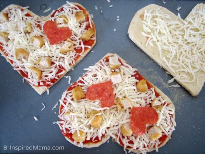 Ready for the Oven - Valentine's Day Kids Pizza Fun - #shop #collectivebias