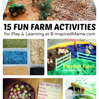 15 Farm Play and Early Learning Ideas