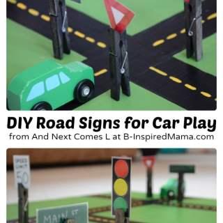 Easy DIY Toys – Fun Road Signs