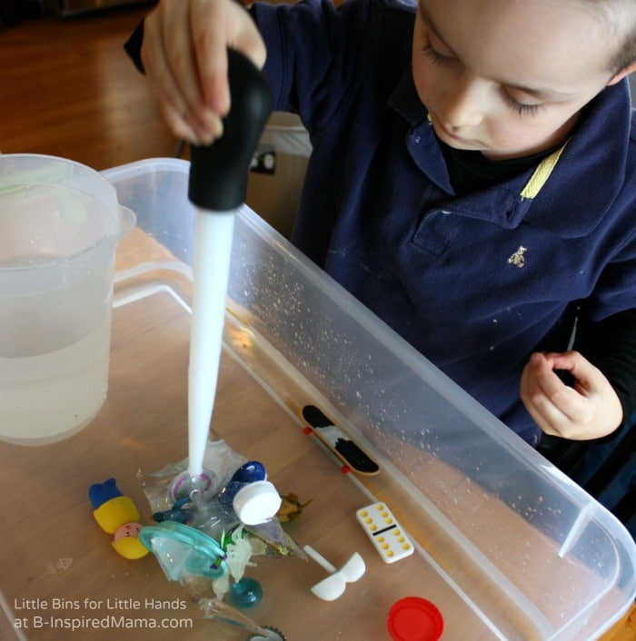 Simple Science for Kids - Some Junk Drawer Ice Melt Fun at B-Inspired Mama