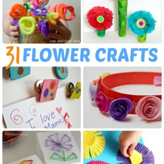 30+ Fun and Creative Flower Crafts for Kids