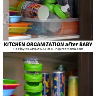 Must Have Baby Items – Organization in the Kitchen