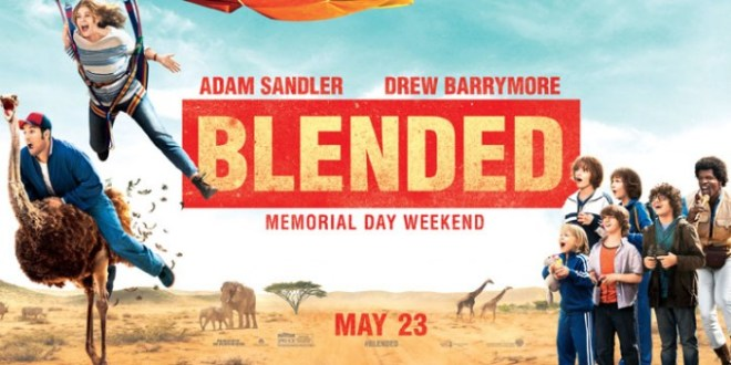 Putting Family Vacations into Perspective with the Movie Blended at B-Inspired Mama