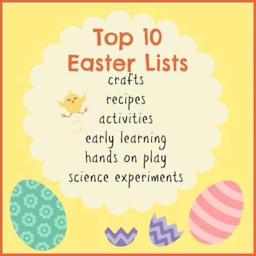 Top Ten Lists for Easter Fun - A Blog Hop at B-Inspired Mama