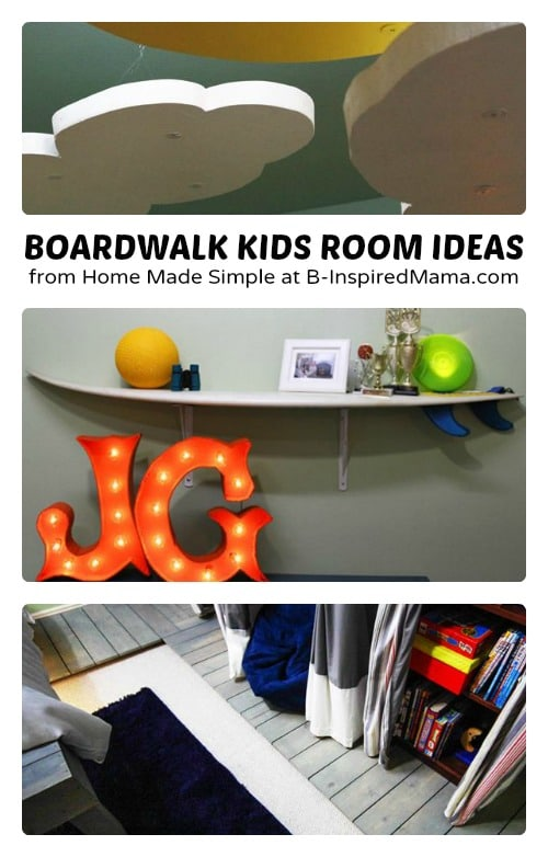Boardwalk Kids Room Ideas from Home Made Simple