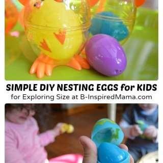 Easy DIY Toys – Nesting Easter Eggs