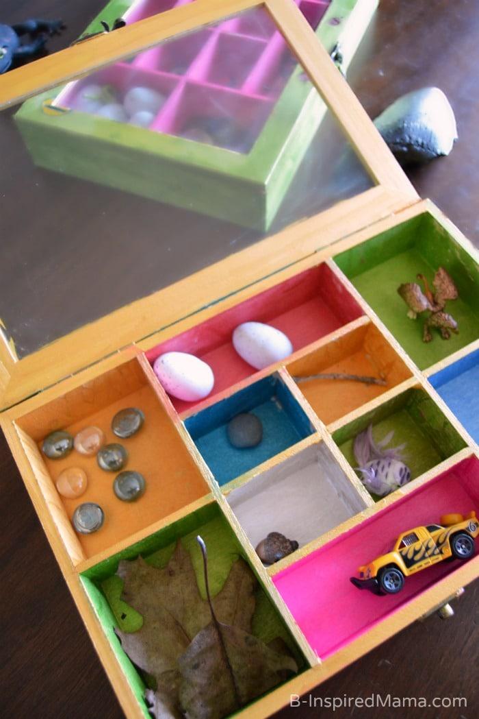 Collection Box Kids Craft - at B-Inspired Mama