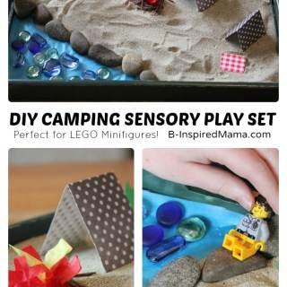 DIY Camping Sensory Play Set