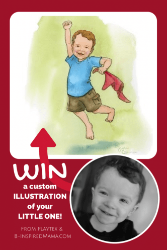 Win-a-Custom-Illustration-of-Your-Child-Sponsored-by-Playtex-Beginnings-Inspired-at-B-Inspired-Mama-332x497