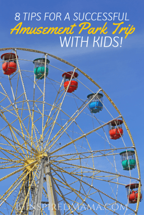 8 Kids Amusement Park Tips - #Sponsored by #WildforWetOnes at B-Inspired Mama